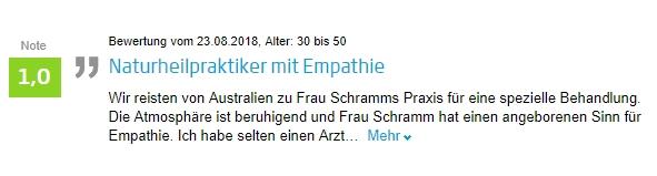 02_Jameda Bewertung Gerrit Ulrike Schramm