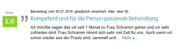 03_Jameda Bewertung Gerrit Ulrike Schramm